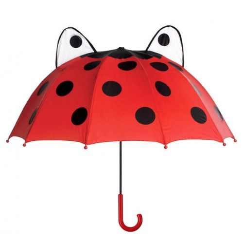 Ladybug Umbrella - Kidorable: SALE on cute matching rain jacket, boots & umbrella's for kids!