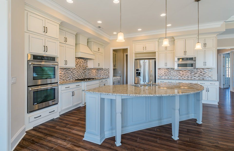 transitional kitchen with kitchen island l shaped 30 on wall ovens id=29743