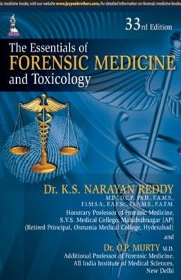 The essentials of forensic medicine and toxicology 33rd edition by the essentials of forensic medicine and toxicology 33rd edition by k s narayan fandeluxe Images