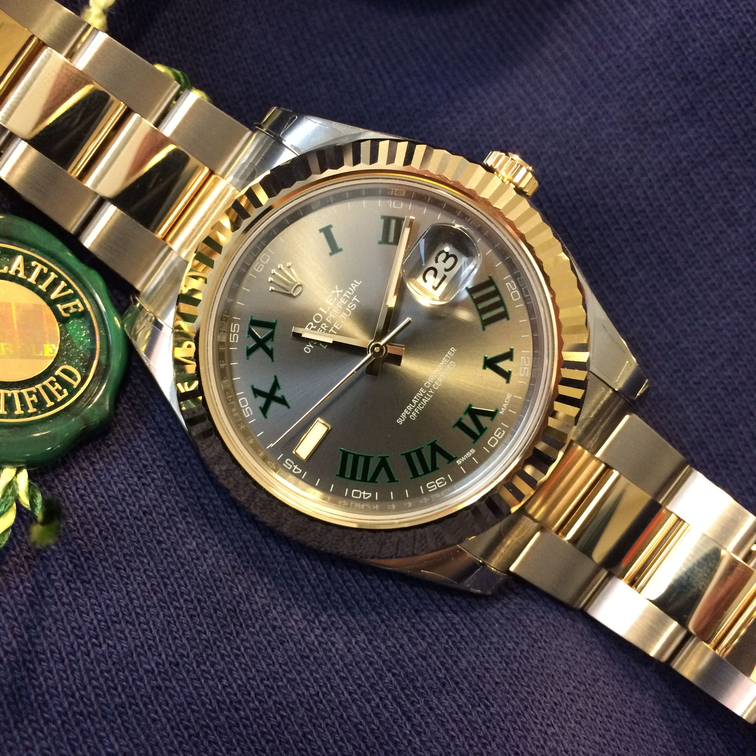 Looking for the  Federer  dial Datejust II   d00a450111