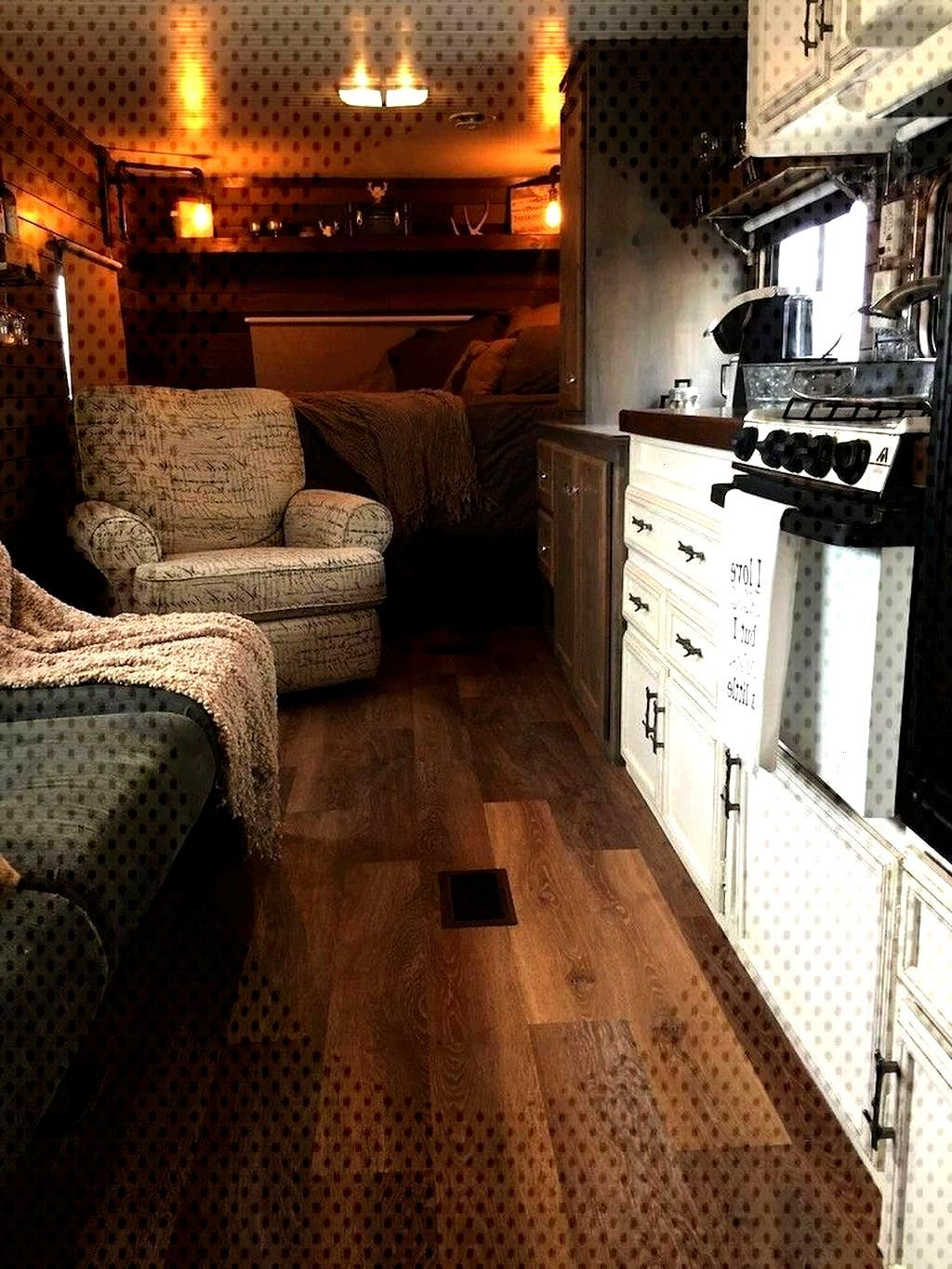 20+ Amazing Travel Trailers Remodel Rv Living Ideas - COODECOR - 20+ Amazing Travel Trailers Remod