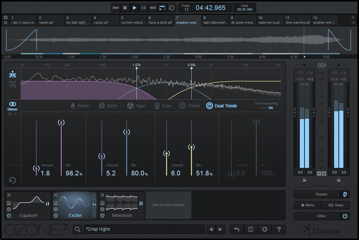 Ozone 7 UPGRADE from Ozone 1-6, Ozone 7 UPGRADE from Ozone 1-6 plugin, buy Ozone 7 UPGRADE from Ozone 1-6, download Ozone 7 UPGRADE from Ozone 1-6 trial, iZotope Ozone 7 UPGRADE from Ozone 1-6