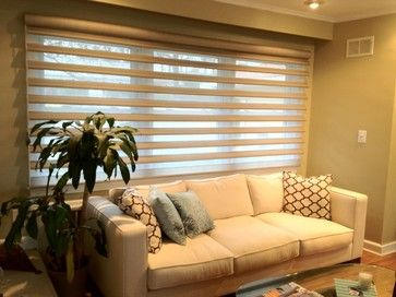Pirouttes by Breslow Home Design - contemporary - window blinds ...
