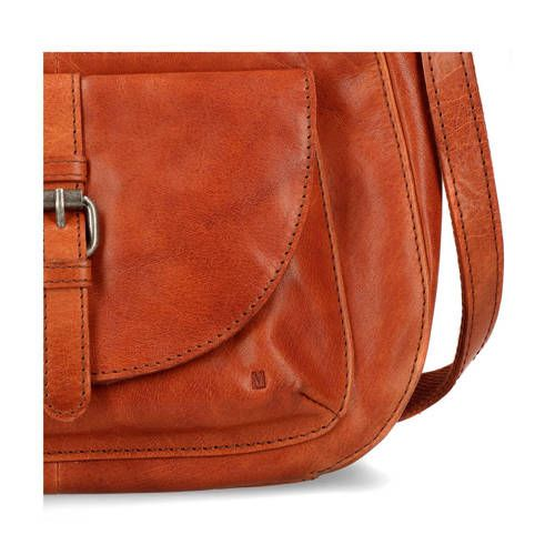 5ea9942b6bc Manfield leren schoudertas cognac in 2019 | Products - Saddle bags ...