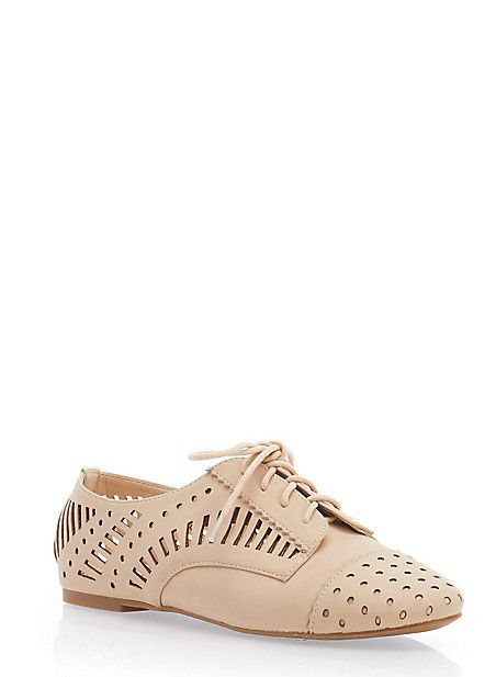 baa5f672cc1ca Rainbow Shops Vented Oxfords in Nude  19.99 Rainbow Shop
