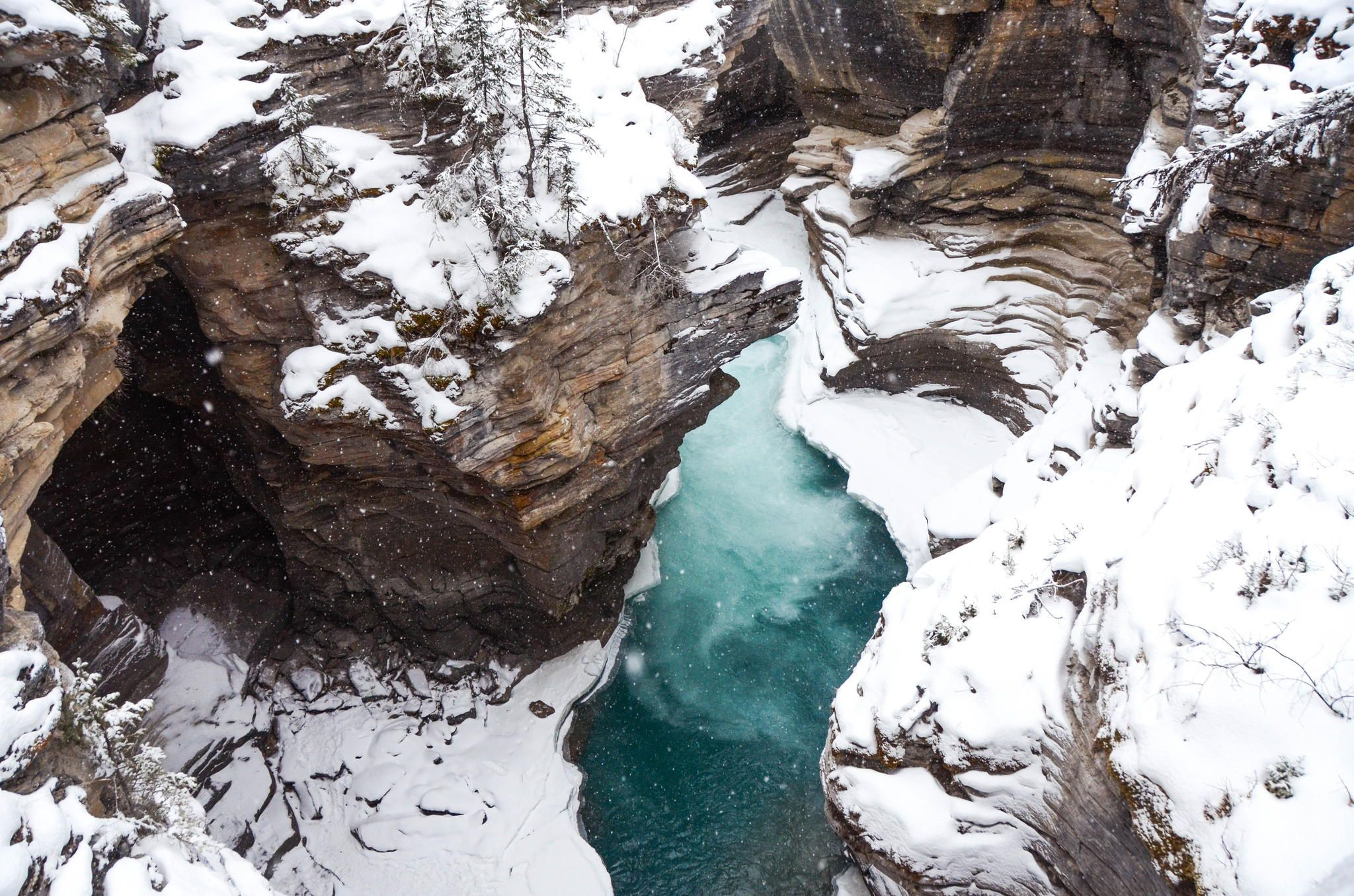below Athabasca Falls by Chaney Swiney - Photo 57377084 - 500px