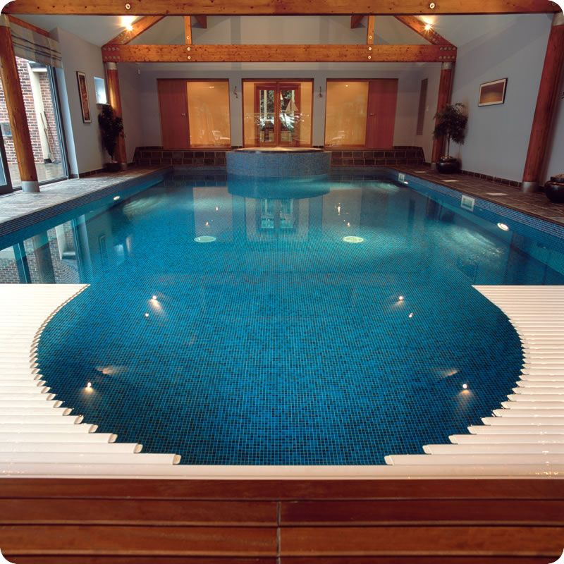 Indoor swimming pool design idea | Offices, interiors, & lighting ...