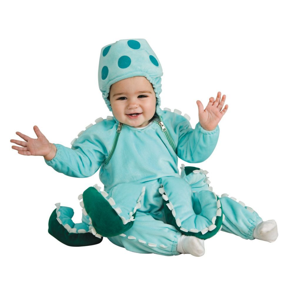 Octopus Halloween Costume for Toddler | Octopus costume, Toddlers ...