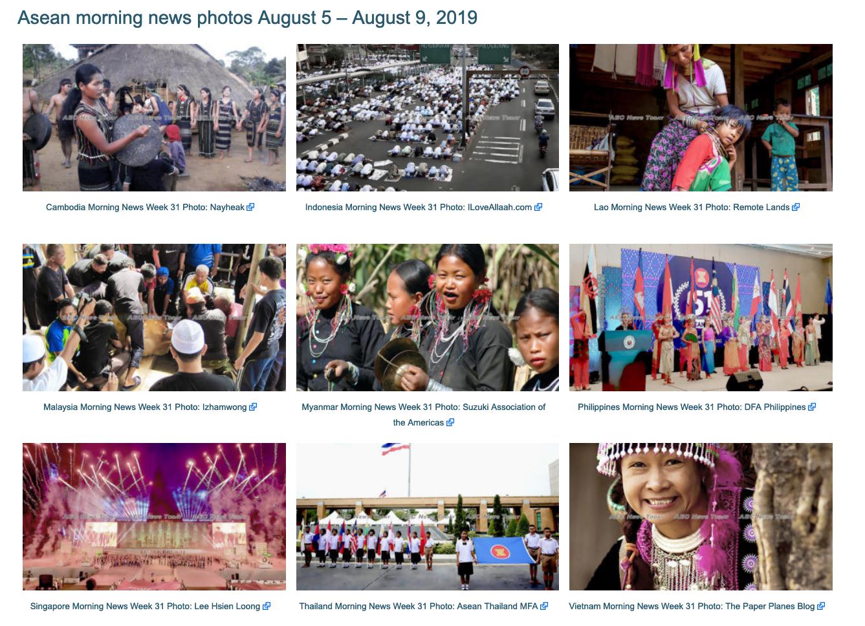 Asean morning news photos for 2019 Morning news