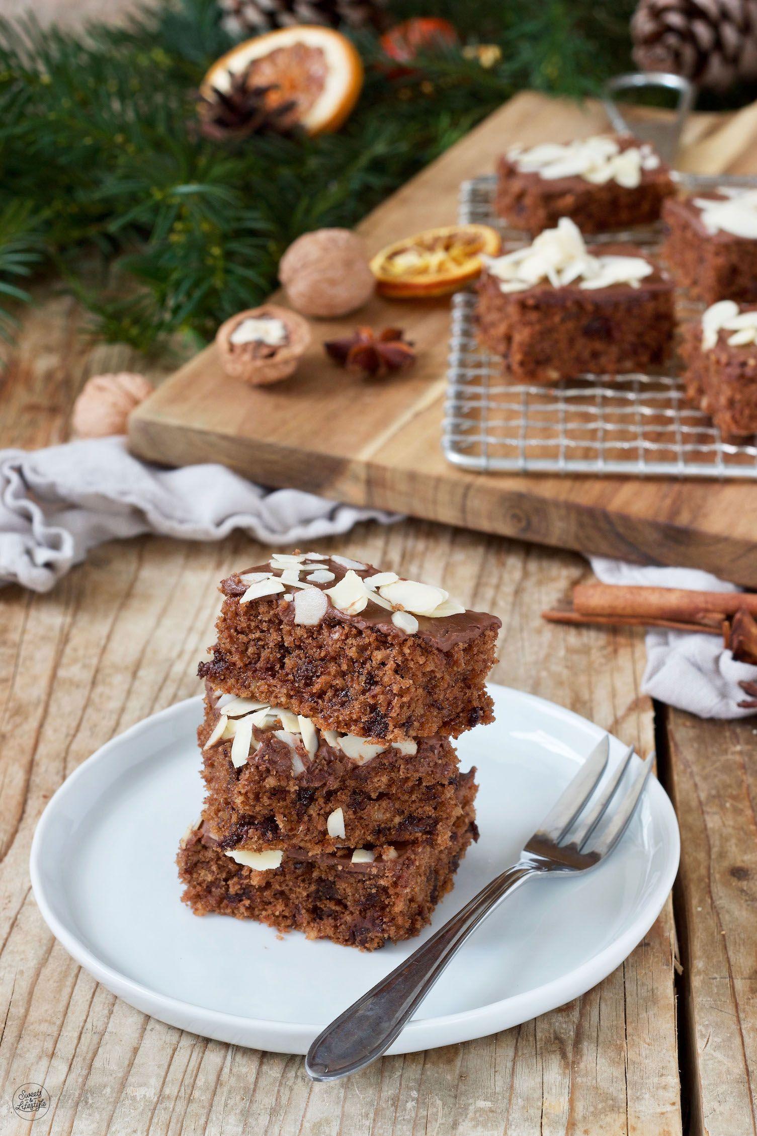 Schokolebkuchen Vom Blech Rezept Sweets Lifestyle Rezept Rezepte Kuchen Und Torten Schoko Lebkuchen