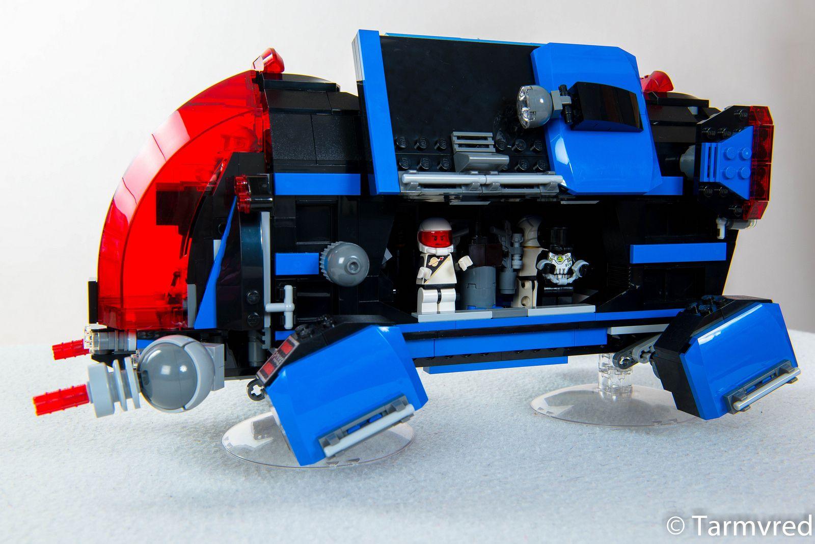Super Secret Spacepolice Dropship Lego Space Lego Creative Lego Spaceship