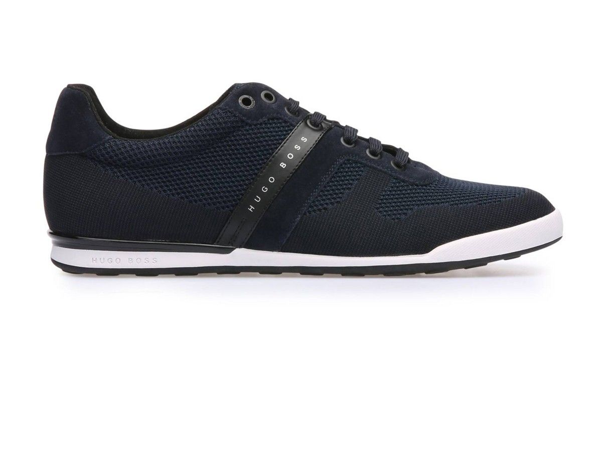 18f3b83bf Zapatillas Hugo Boss Lighter Lowp Azul y Blanco in 2019 | Zapatos ...