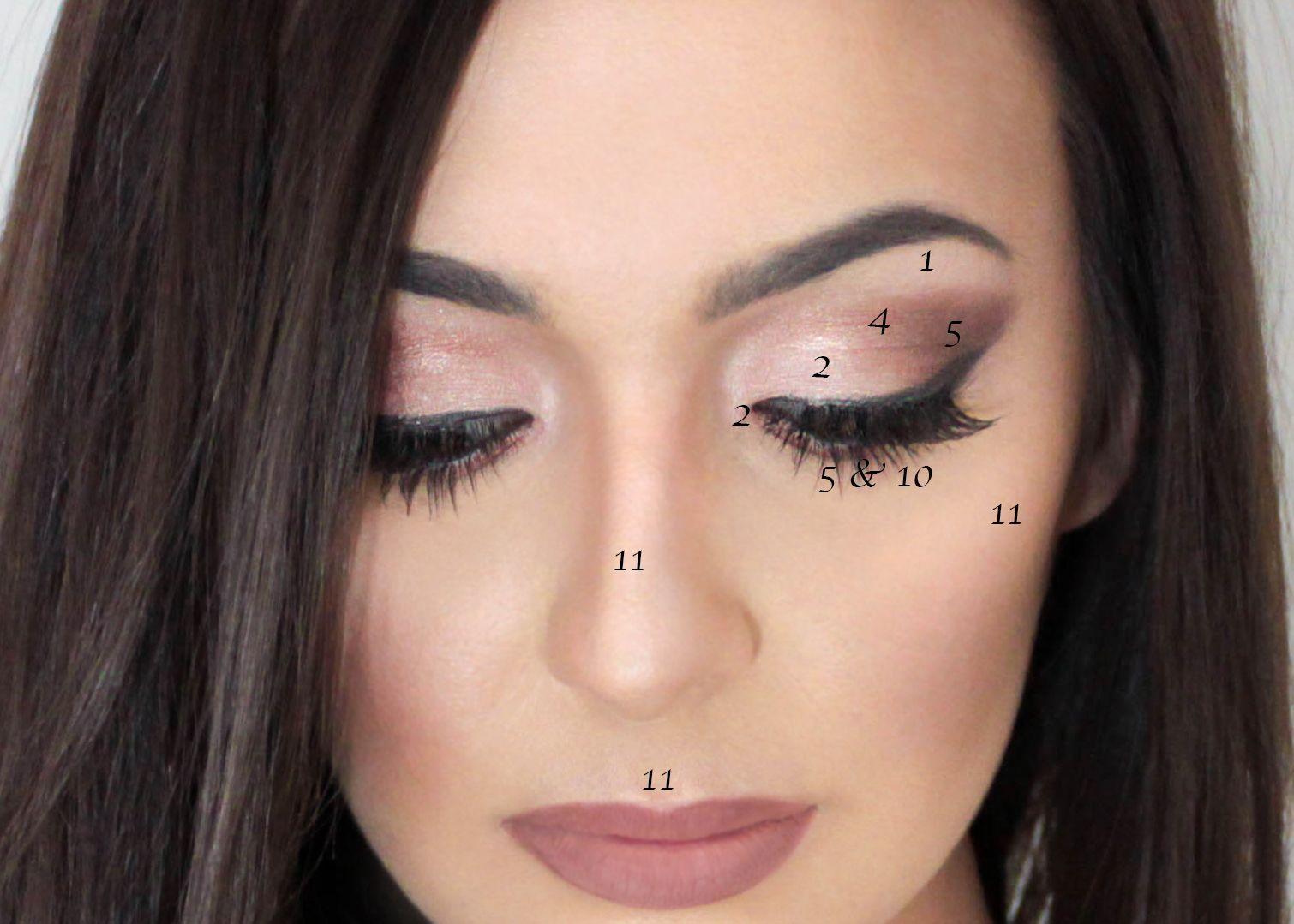Carli Bybel Palette Eyeshadow Highlight Look Averie