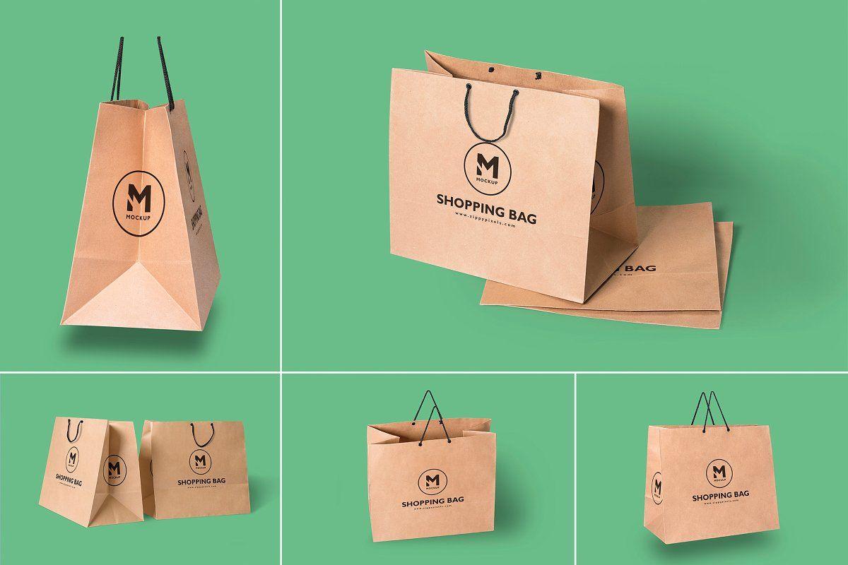 Download Gift Box Mockups Bag Mockup Paper Shopping Bag Box Mockup