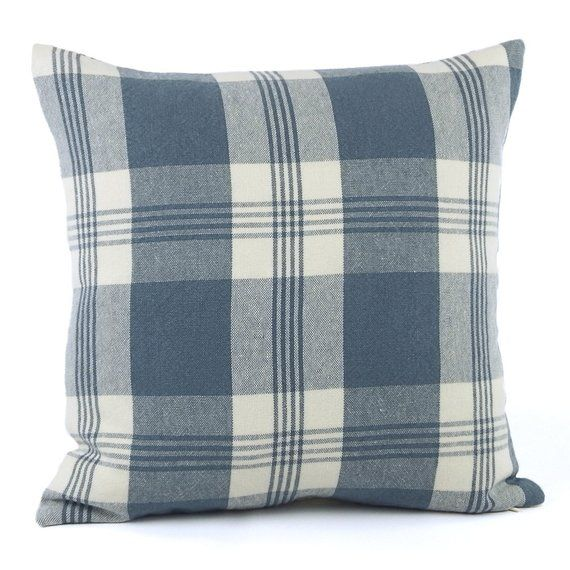 Strange Ralph Lauren Striped Throw Pillow Cover 18X18 Blue Stripe Gmtry Best Dining Table And Chair Ideas Images Gmtryco