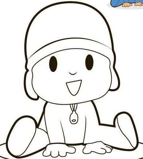 pocoyo coloring pages free - Google Search | rockas | Pinterest | Pocoyo
