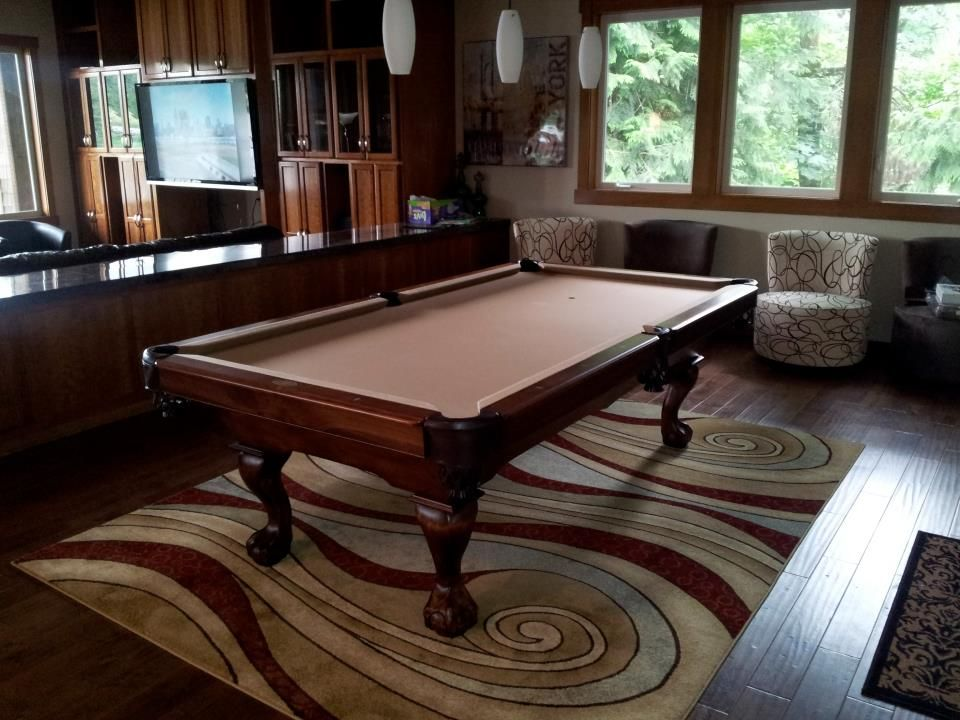 Golden West Titus Pool Table Installed In Portland Oregon The
