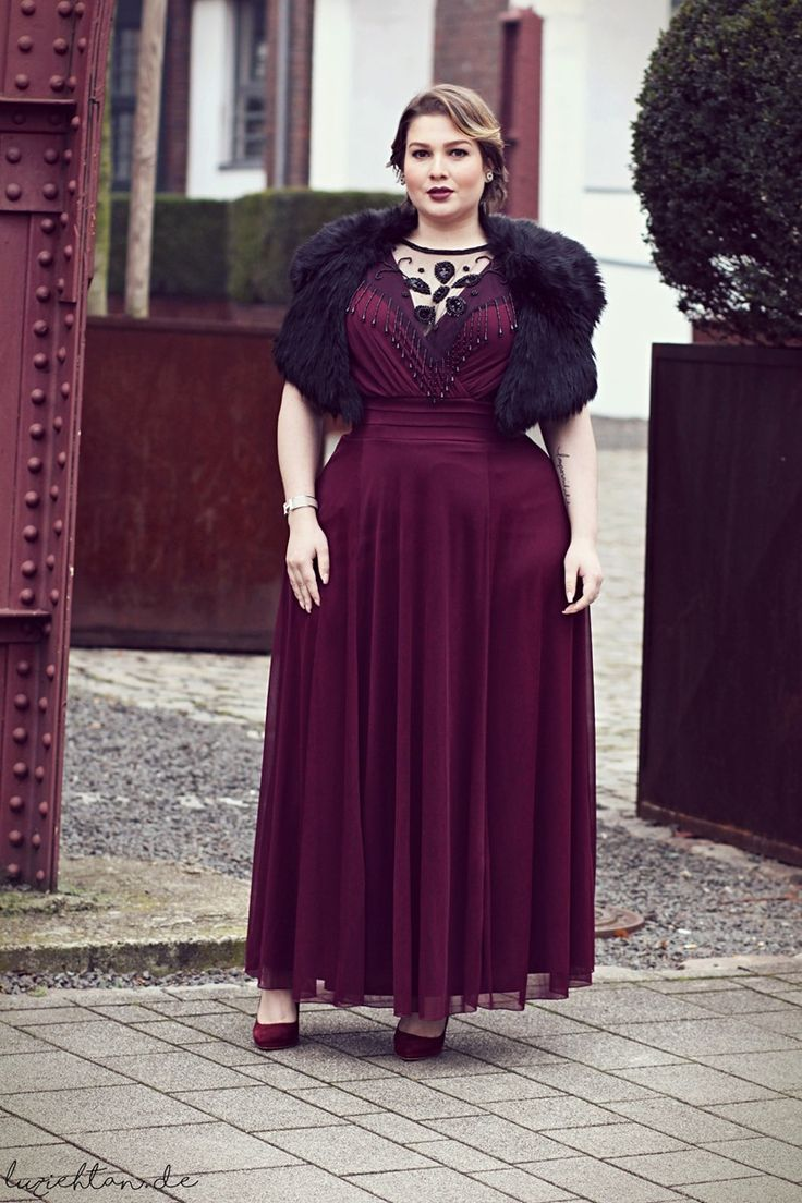 Plus Size Fashion Lu zieht an.registered Plus size