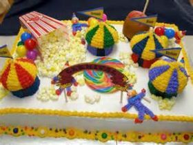 Yahoo search Sheet cakes and Carnivals on Pinterest
