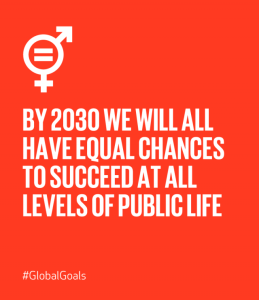 Global Goal 5 Achieve Gender Equality And Empower All Women And Girls Inspirational Words Un Sustainable Development Goals Equality