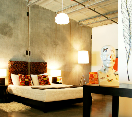 Polished concrete walls and floors... http://www.browzer.net ...