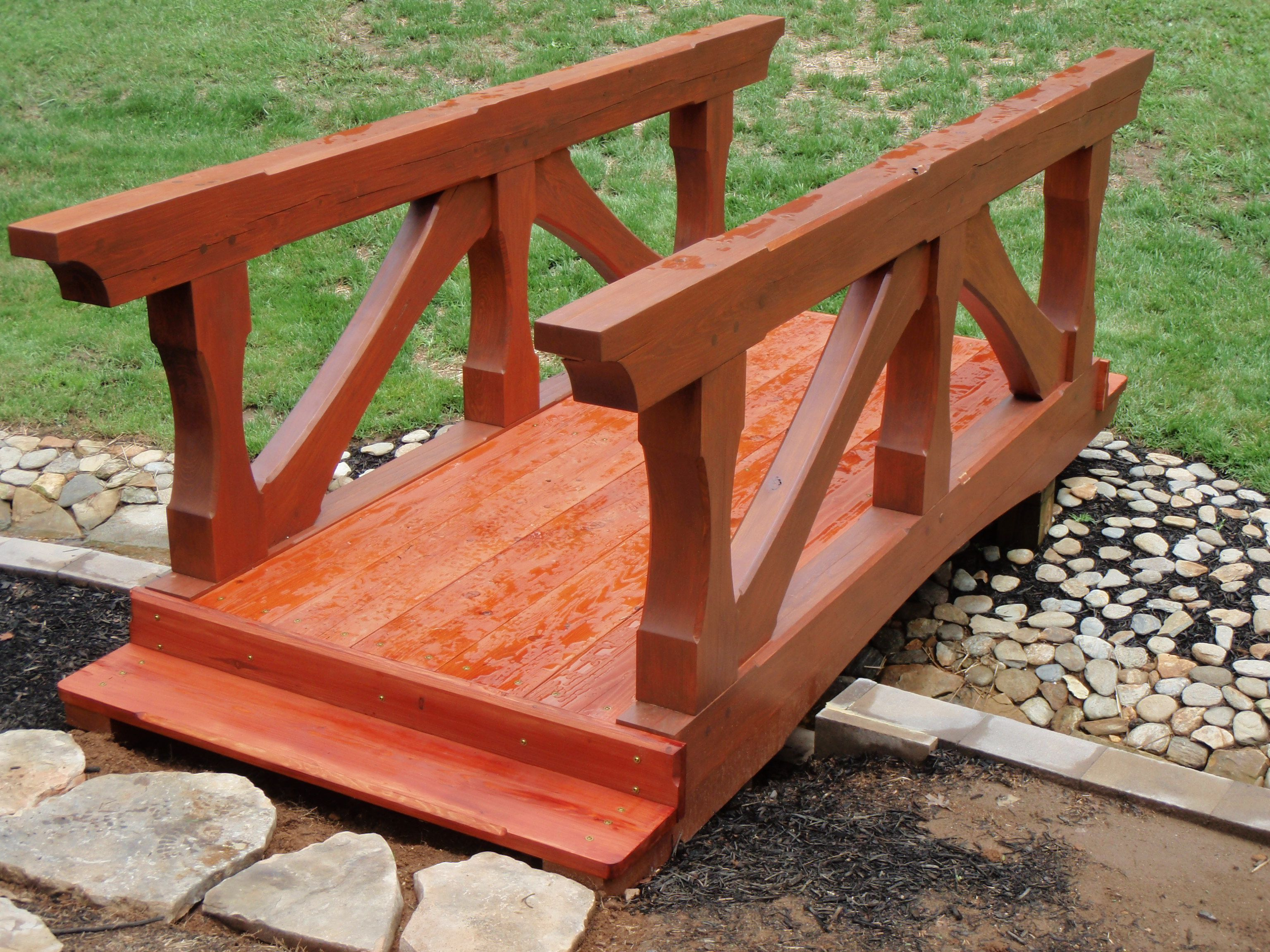 Timber Frame Foot Bridge