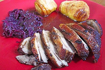 Entenbrust in Rotweinsoße von Dine | Chefkoch | Rezept ...