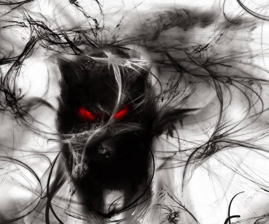 Мрачный кот картинки