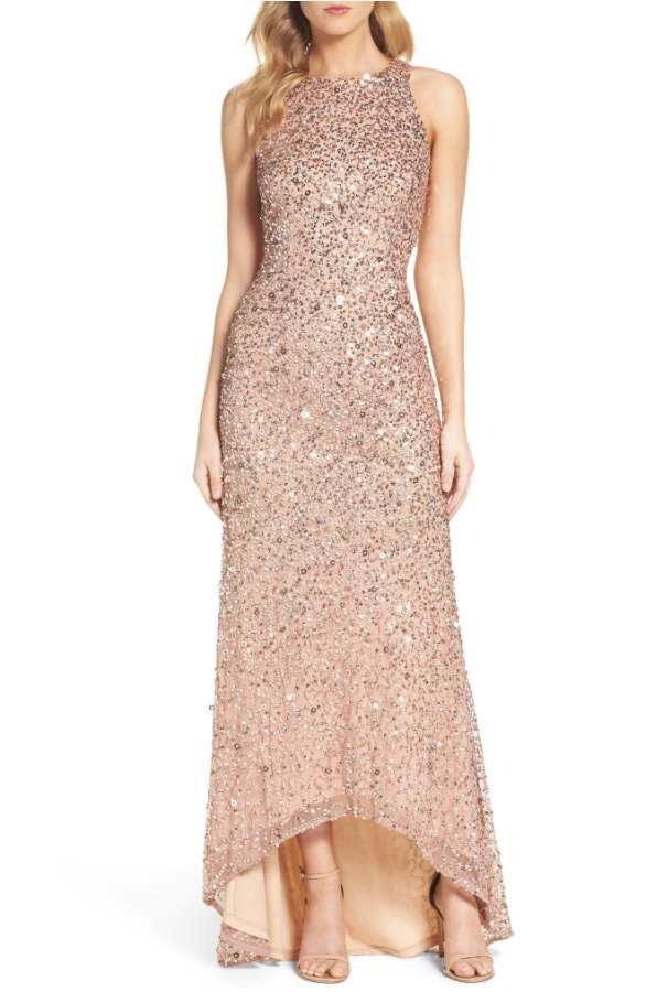 High-Low Dresses for the Mother-of-the-Bride | Sequined & Metallic ...