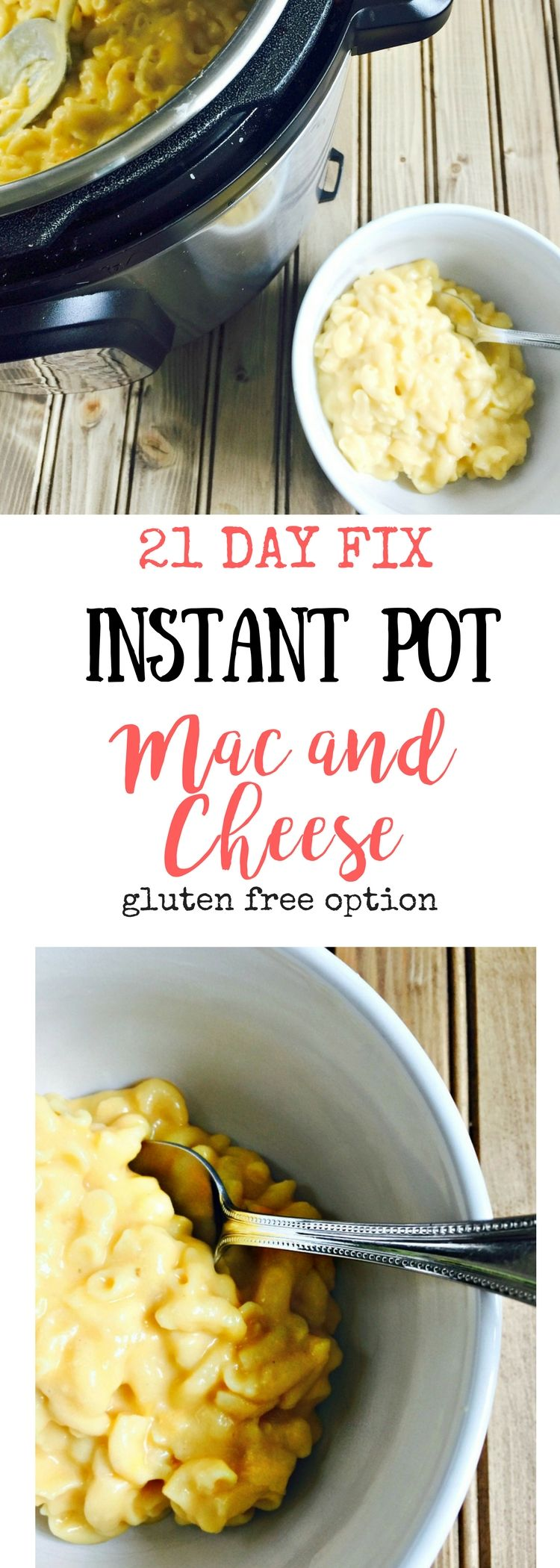 21 day fix instant pot mac and cheese