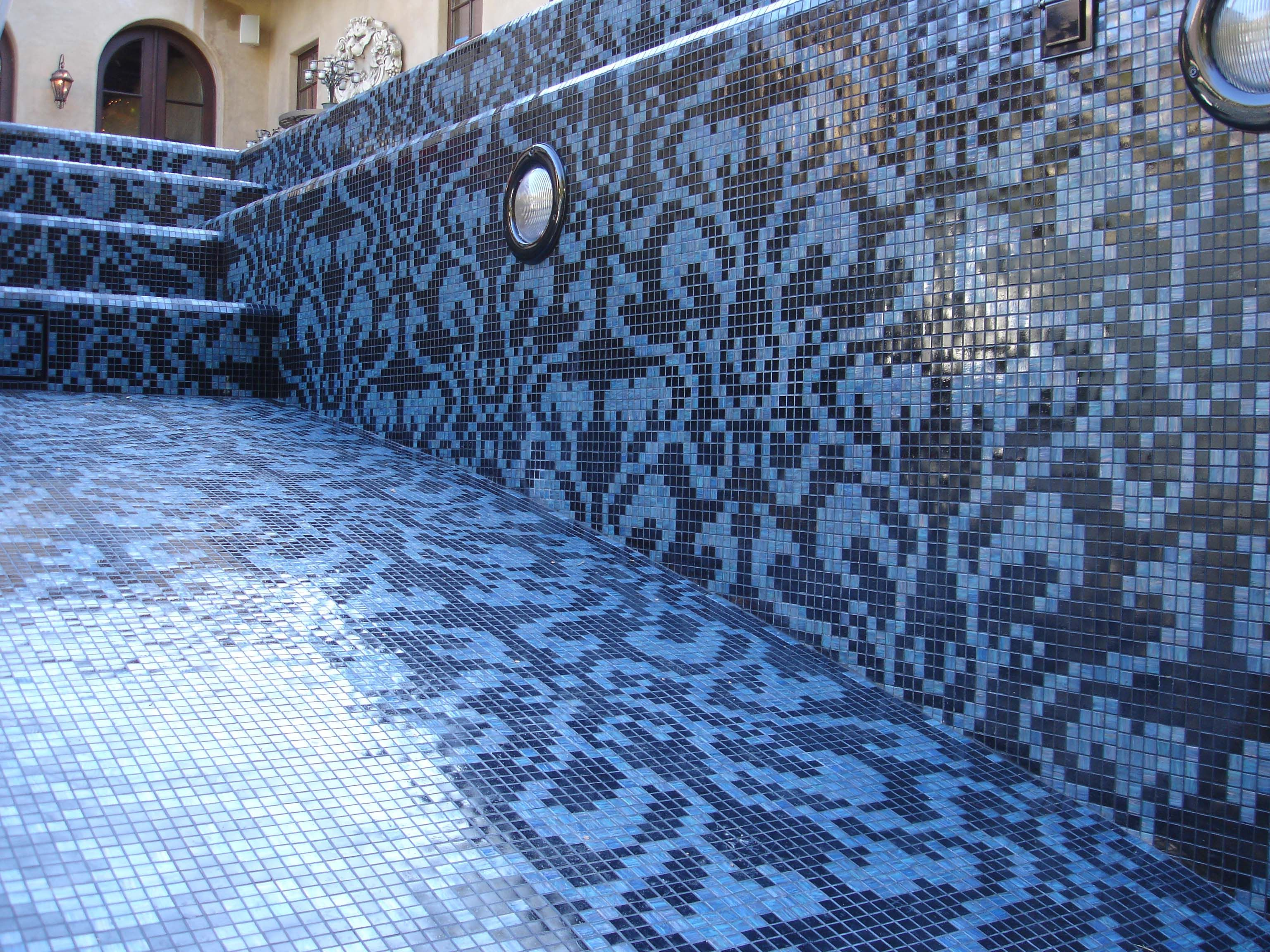 Bisazza Glass mosaic tile installation by Jimmy Reed, Rock Solid ...