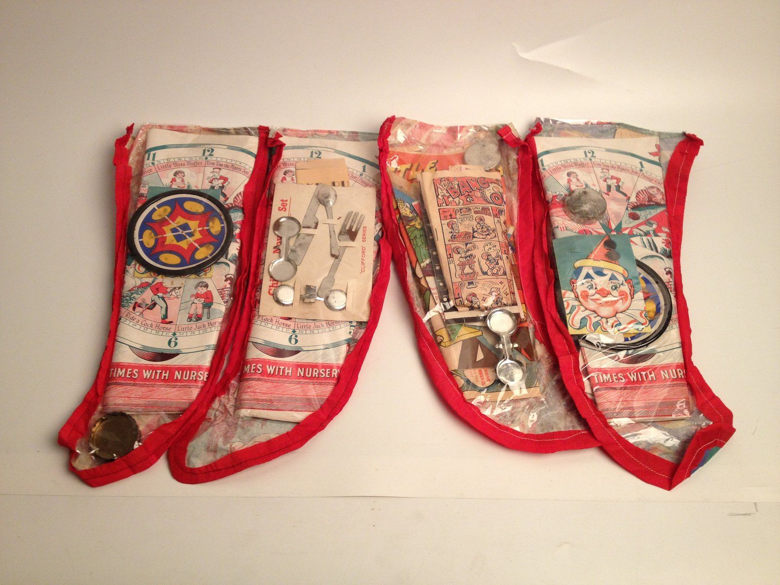 Christmas Stockings -Not ornaments, but definitely vintage!