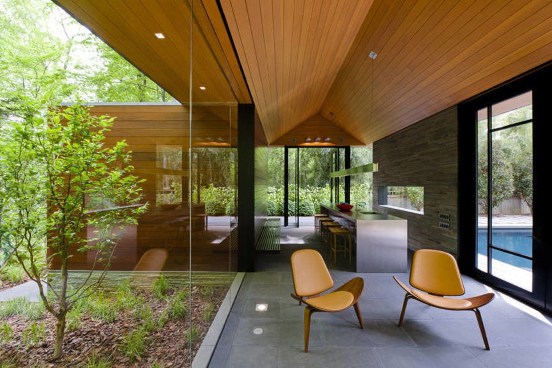 Wunderbar Poolhaus Bauen Referenz Von In Einem Wunderbaren Garten Realisierten Die Landschaftsarchitekten