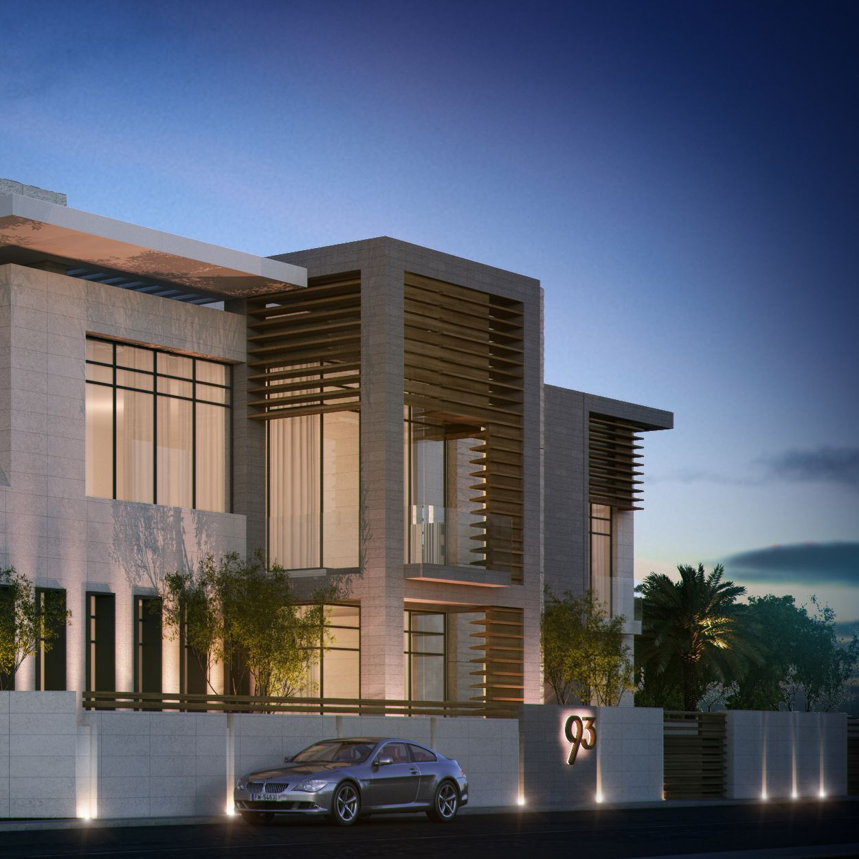Uae ajman private villa sarah sadeq architects sarah for Modern house uae