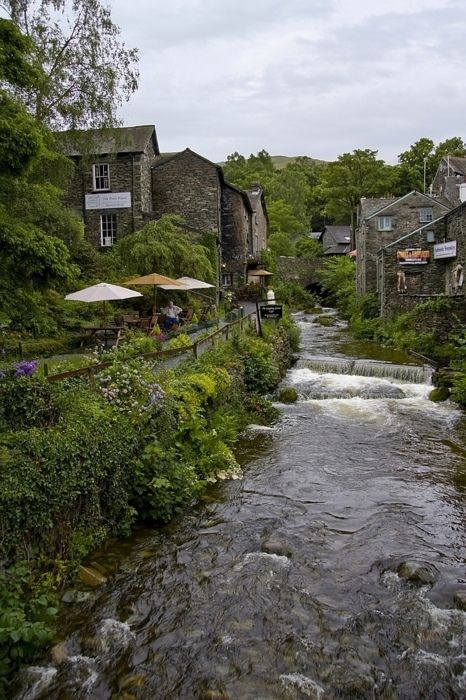 Ambleside river, Cumbria, UK
