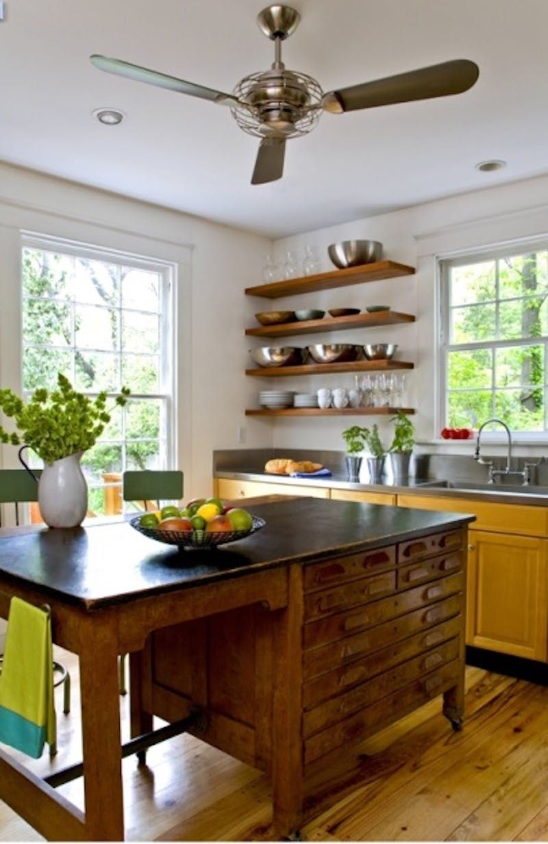 make it your style kitchen island alternatives using repurposed