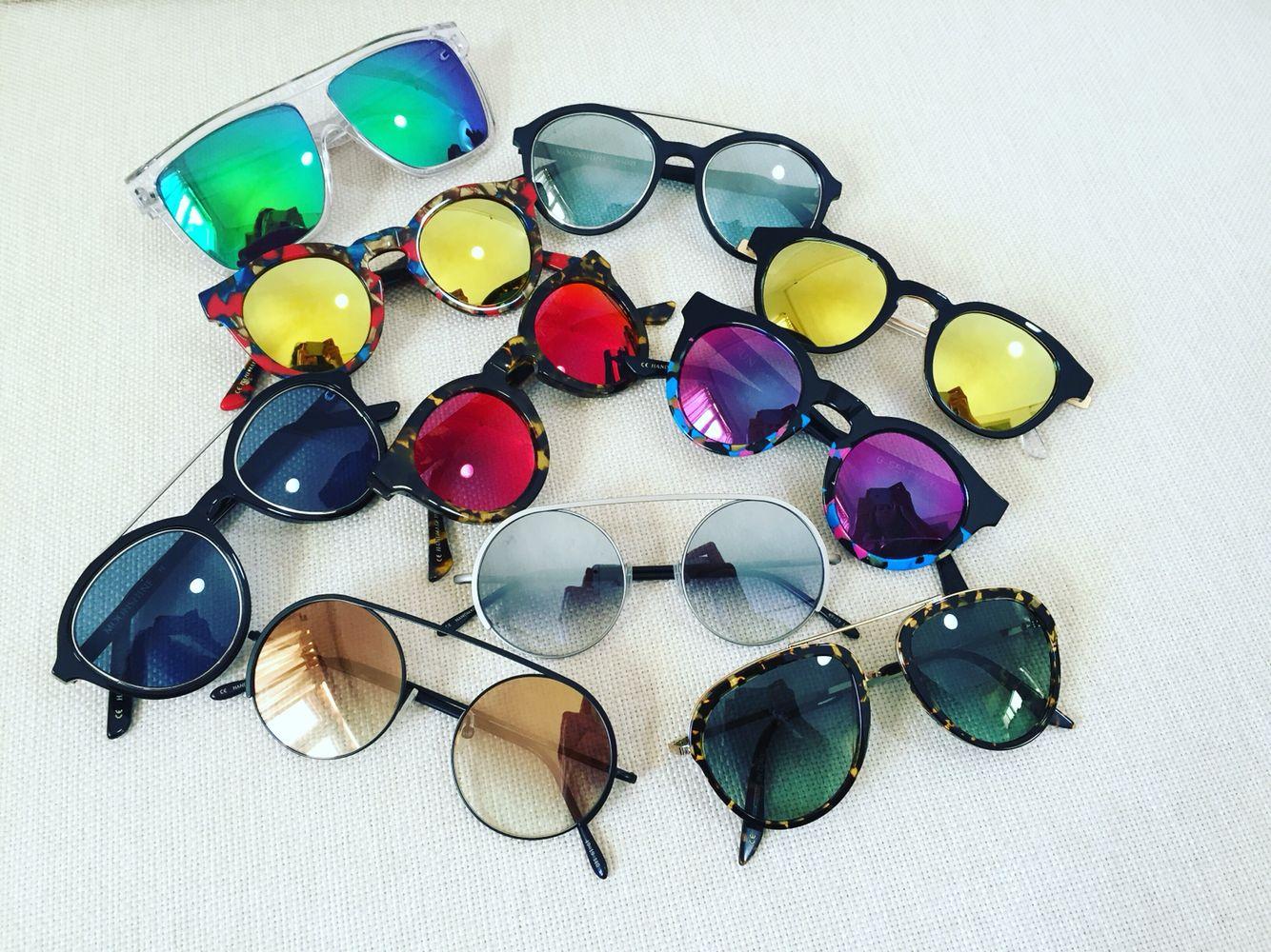 Addicted to G-Sevenstars sunglasses!! Italian handmade sunglasses with Mazzucchelli acetate