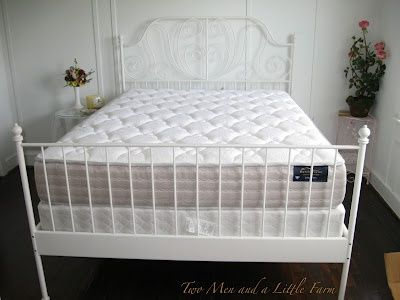 leirvik bed frame hack - Google Search | new apartment | Pinterest