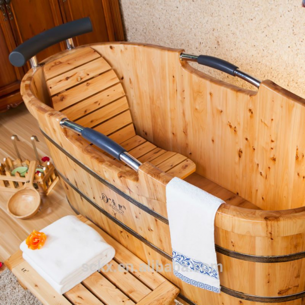 Quality Cedar Wood Garden Tub Loweswalk In Shower Tub Combo Buy