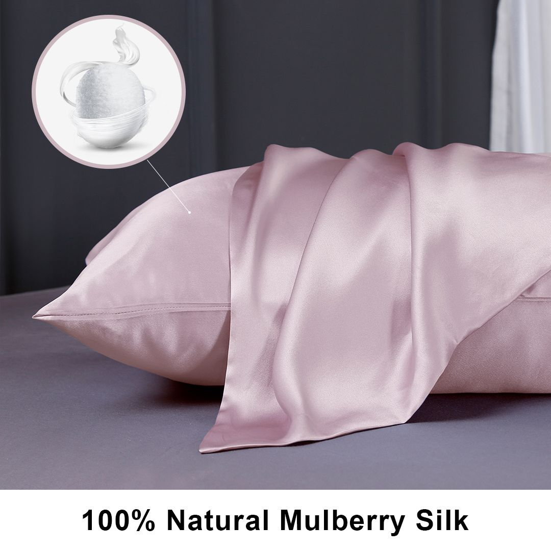 Why Silk Is Skin Friendly In 2020 Silk Pillowcase Mulberry Silk Pillow Cases