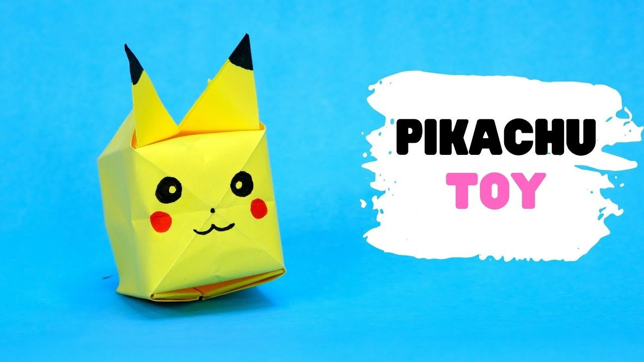Photo of How to make origami PIKACHU balloon TOY [easy origami]