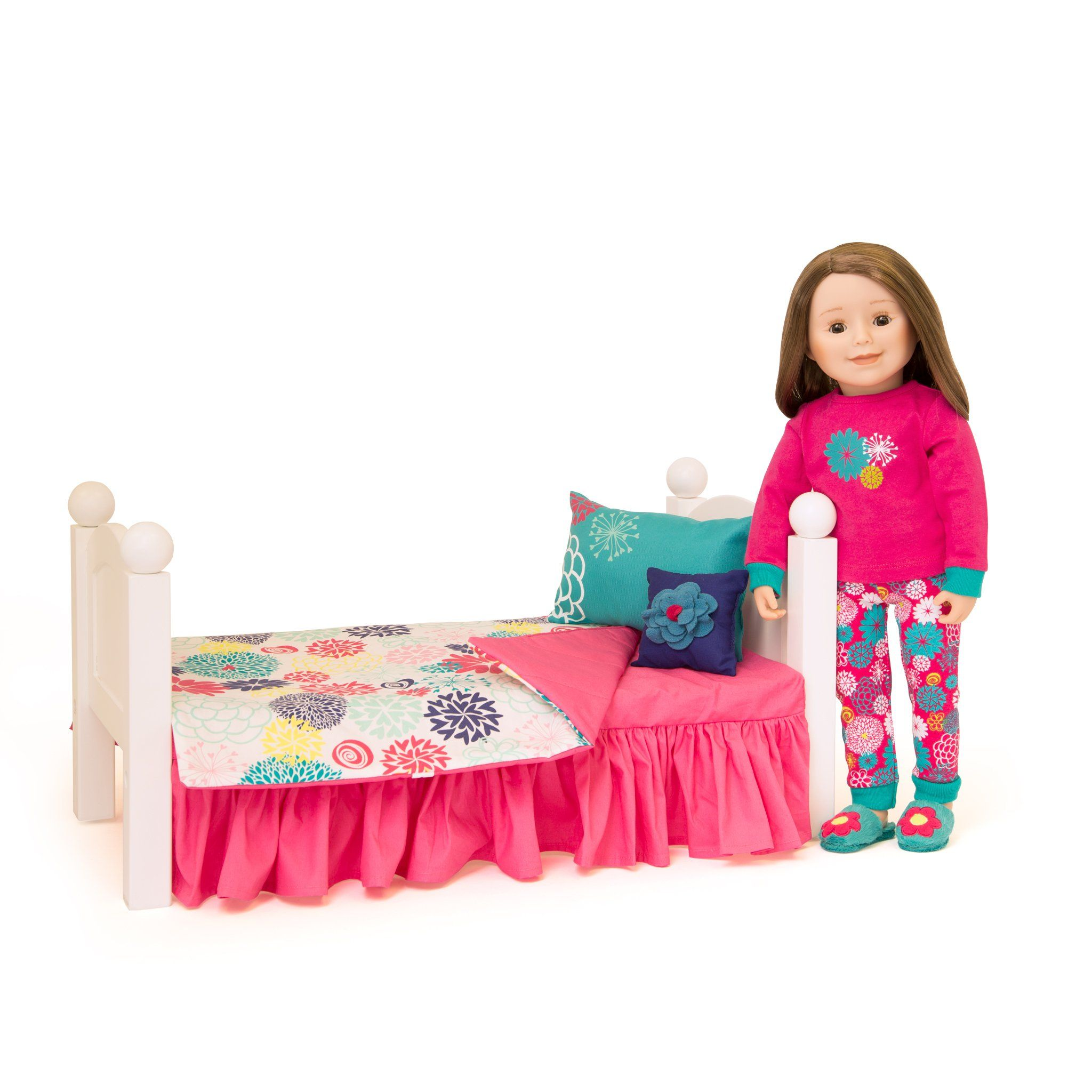 Field of Flowers Bedding Flower bedding, Doll beds, Doll