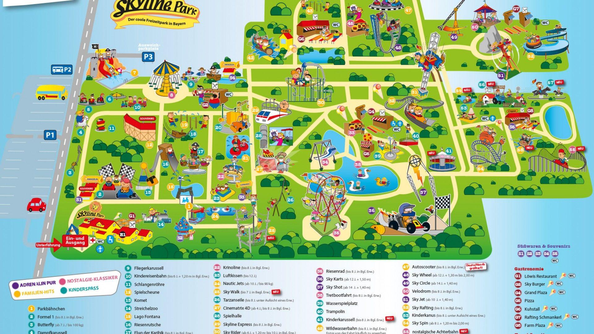 Allgau Skyline Park 遊園地 観光地 あげる