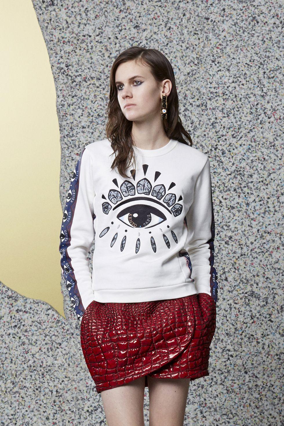 Cheap Kenzo Eye Sweatshirt Womens