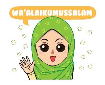 Paling Populer 19 Gambar Kartun Lucu Ucapan Selamat Pagi Waalaikumsalam Hijab Gif Waalaikumsalam Salam Hijab Discover Share Gi Di 2020 Kartun Kartun Lucu Gambar Lucu