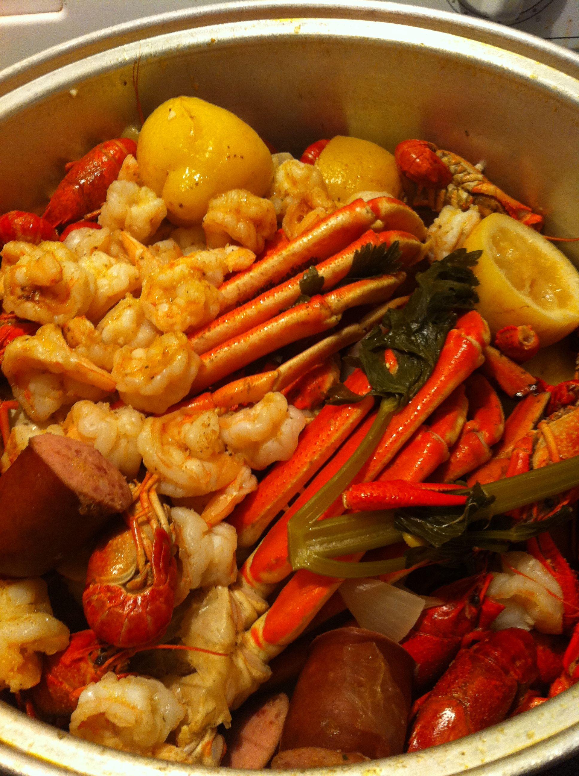 Shrimp crab boil | Food | Pinterest
