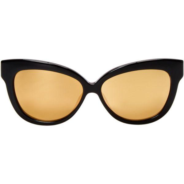 e64d62cb08a4 Linda Farrow Luxe Women s 60.5MM Cat-Eye Sunglasses - Black ( 219 ...