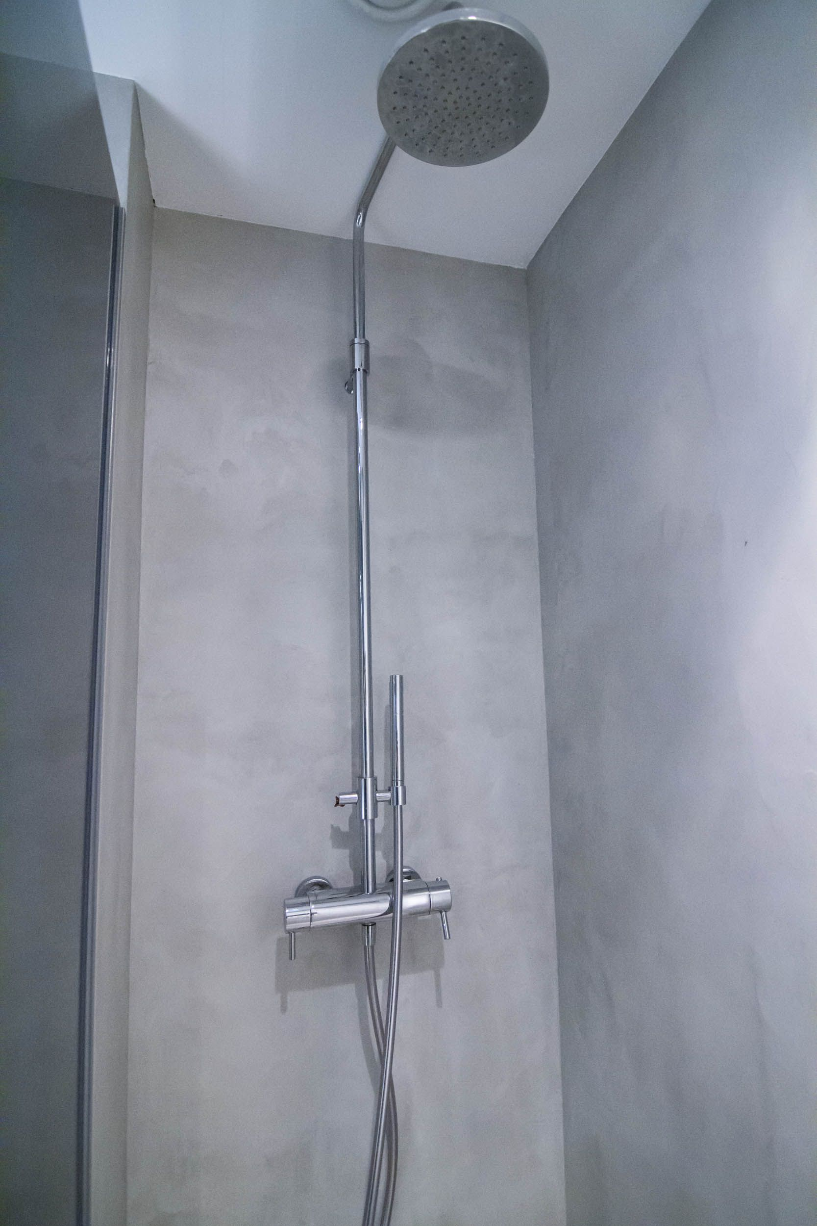 badkamer tendenzadesign beton cire bà ton cirà badkamers pinterest