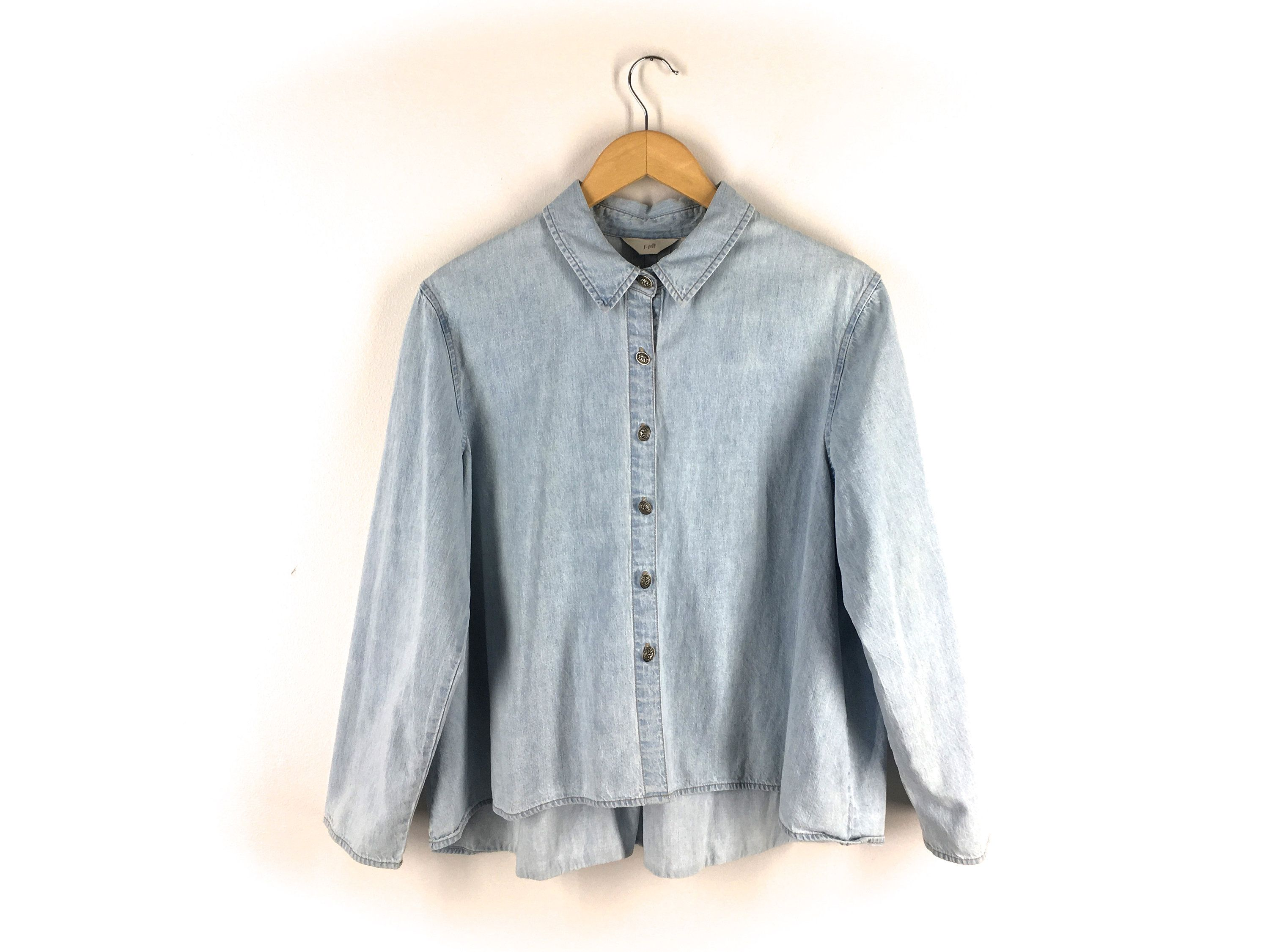 S--Pleated Vintage Earthy Shirt