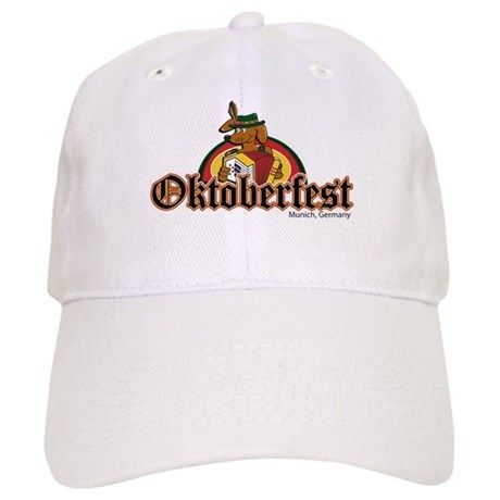 1868a5102b2d3 Oktoberfest Dachshund Baseball Cap on CafePress.com